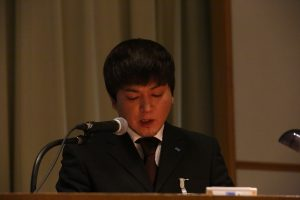 サンワファブテック 飯野 慎太郎:「女性リーダーと挑むはんだ槽生産条件確立! ~やらされ型からやるぞ型へ・・自律的活動職場への道~」