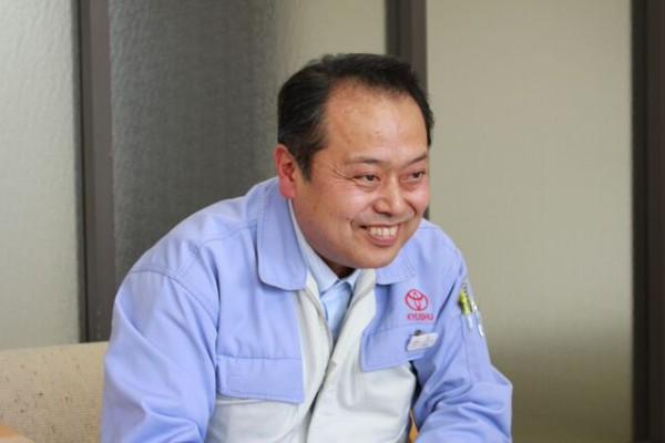 トヨタ自動車九州 栄洋一さん